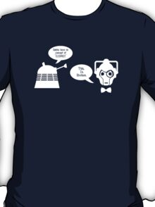 Daleks vs. Cybermen - The Inelegant Dalek T-Shirt