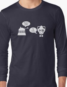 Daleks vs. Cybermen - The Inelegant Dalek Long Sleeve T-Shirt