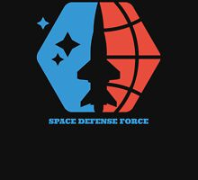 Space Defense Force 2 Women's Fitted V-Neck T-Shirt