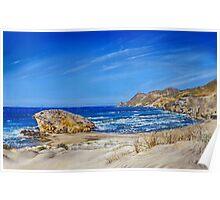 Monsul Beach - Playa Monsul Poster
