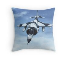 Harrier GR3 Throw Pillow