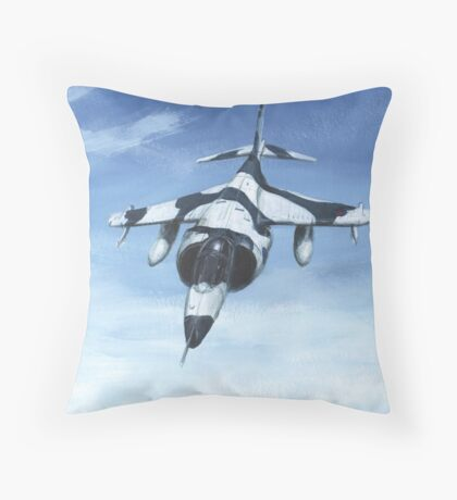 Harrier GR3 Throw Pillow