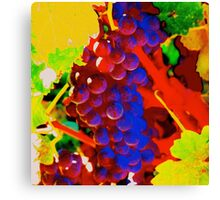 Artistic Grapevine Canvas Print