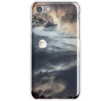 The Moon and Clouds iPhone Case/Skin