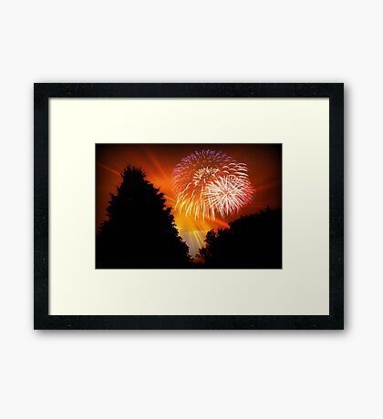 Happy 4th, 2011 !!! © Framed Print