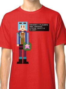 Ramona Flowers - Age: Unknown - 8-Bit Classic T-Shirt