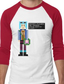 Ramona Flowers - Age: Unknown - 8-Bit Men's Baseball ¾ T-Shirt
