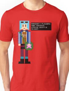 Ramona Flowers - Age: Unknown - 8-Bit Unisex T-Shirt