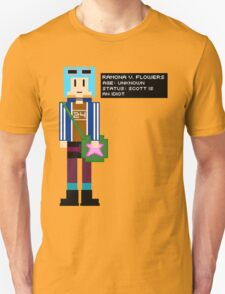 Ramona Flowers - Age: Unknown - 8-Bit T-Shirt