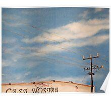 Casa Nostra, Alice Springs Poster
