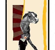 Dada Tarot- The Sun by Peter Simpson