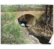 Convict Bridge near Goulburn NSW (1839) Poster