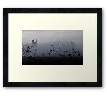 Castle in the Fog Framed Print