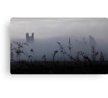 Castle in the Fog Canvas Print