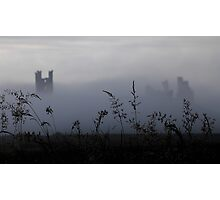 Castle in the Fog Photographic Print