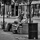 Public couch? by Nathalie Chaput