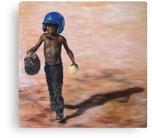Baseball Boy III Canvas Print
