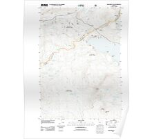 USGS Topo Map Oregon Willamette Pass 20110722 TM Poster
