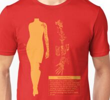 Bionic Arm Warning Shirt Unisex T-Shirt
