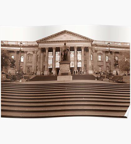State Library, Victoria, Australia Poster