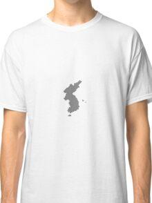 Pixel Korea Map Classic T-Shirt