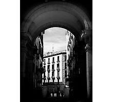 Arches of Plaza Mayor Photographic Print