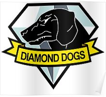 Diamond Dogs Badge Poster