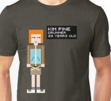 Kim Pine - Drummer - 8-Bit Unisex T-Shirt