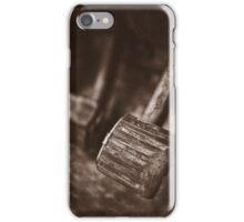 """ Old Land Rover ... Brake & Clutch  "" iPhone Case/Skin"