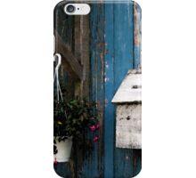 Wooden Mailbox iPhone Case/Skin