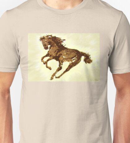 Running Wild Horse  Unisex T-Shirt