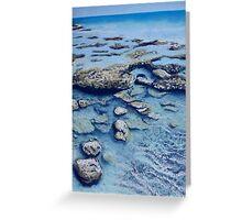 Rock Pools Greeting Card