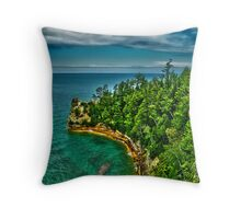 Miners Castle Throw Pillow