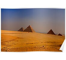 The Giza Plateau Poster