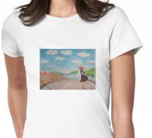 Norwegian girl Womens Fitted T-Shirt