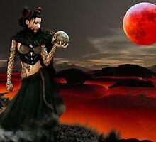 Death Of Satan by Mistyarts