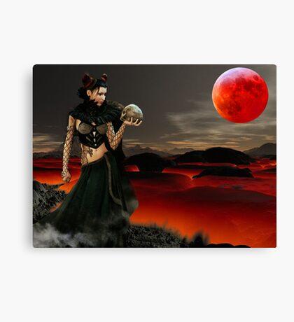 Death Of Satan Canvas Print