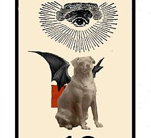 Dada Tarot-Moon by Peter Simpson