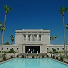 Mesa Arizona LDS Temple by Nick Boren