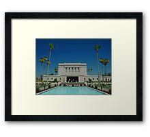 Mesa Arizona LDS Temple Framed Print