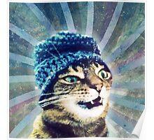 Kitty Glitter Poster