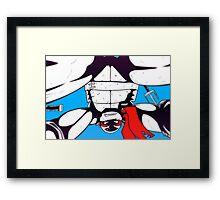 TMNT - Raphael Framed Print