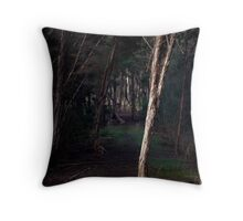 Isolated Trunk Throw Pillow