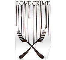 Love crime Poster