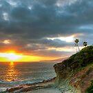 Laguna Beach Sunset by Eddie Yerkish