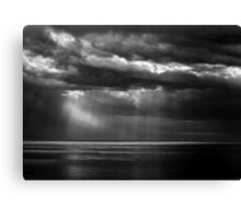 Watching the Storm Canvas Print