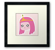 Princess Bubblegum Framed Print