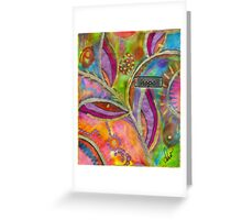 Hope Springs Anew Greeting Card