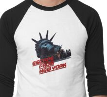 Escape From New York Men's Baseball ¾ T-Shirt