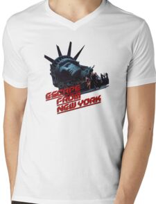 Escape From New York Mens V-Neck T-Shirt